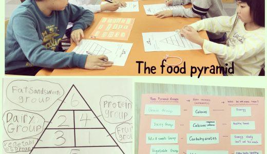 食べ物のグループについて学んでいます!どんな栄養があるんでしょうか✨