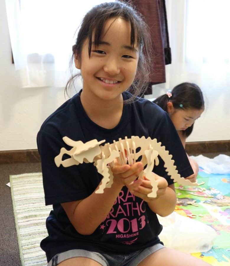 Summer school 1日目 Dinosaurs day!!