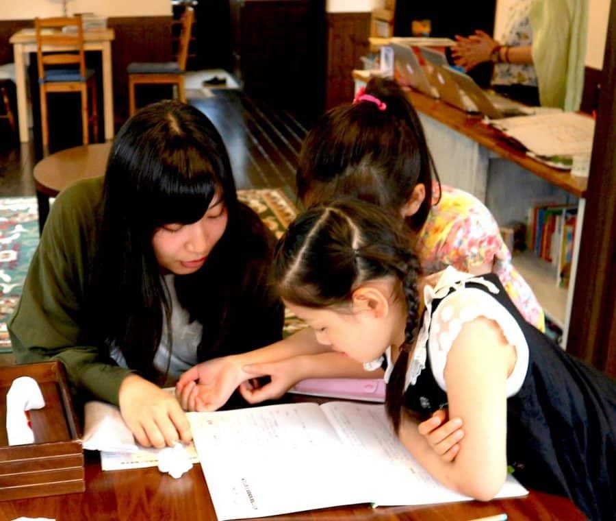夏休み宿題イベントの様子