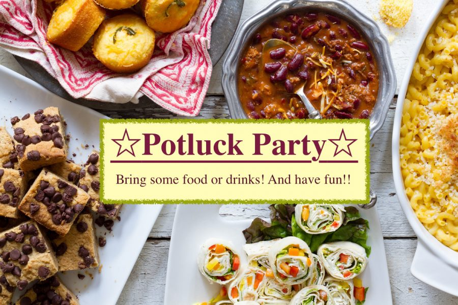 Potluck Partyの様子