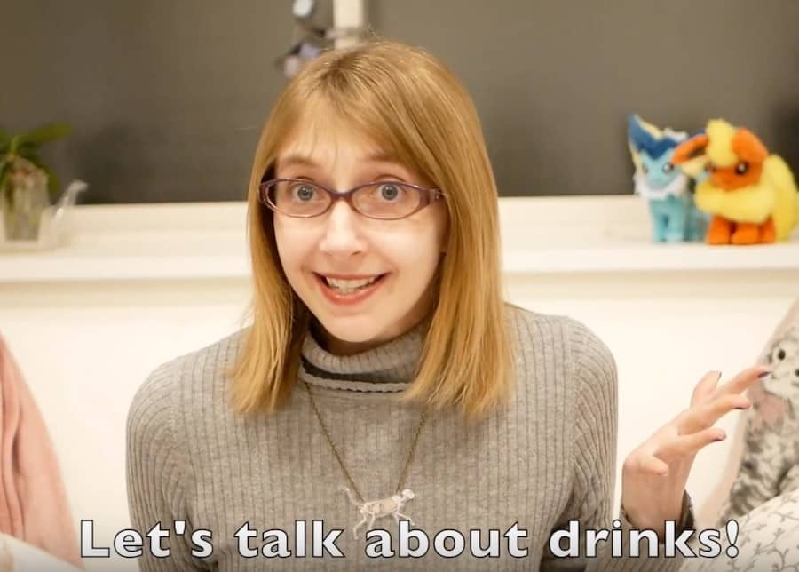 動画をアップしました!Drinks!